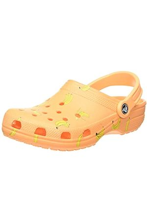 Crocs Unisex-Erwachsene Classic Vacay Vibes Clogs, (Cantaloupe 801)
