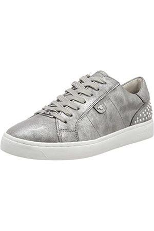 TOM TAILOR Damen 4892619 Sneaker, (Silver)