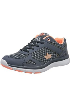 LICO Damen Arigo Sneaker, (Marine/Lachs Marine/Lachs)