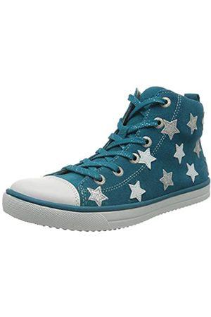 Lurchi Mädchen Starlet Hohe Sneaker, (Deep Ocean 72)