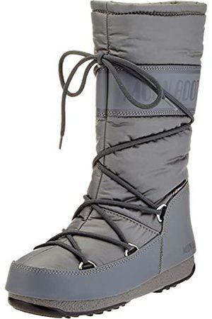 Moon Boot Damen High Nylon Wp Schneestiefel, (Grigio 006)