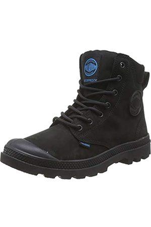 Palladium Pampa Sport Cuff Leather Waterproof, Leather Herren Stiefel, (Noir (315 Black))