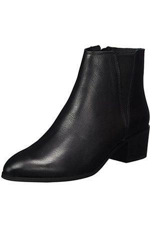 Buffalo Damen ES 30988 Caster Chelsea Boots, (Preto 01)