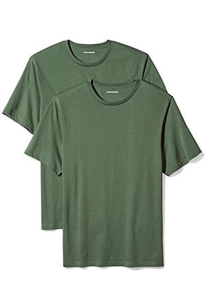 Amazon 2-Pack Regular-Fit Short-Sleeve Crewneck T-Shirt