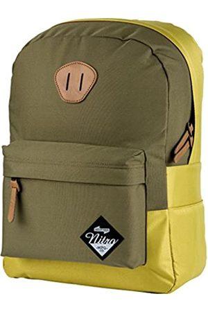 Nitro Urban Classic Old School Daypack mit gepolstertem Laptopfach, urbaner Streetpack im Retro-Look, Alltagsrucksack, Schulrucksack, Schoolbag , 20 L