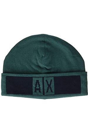 Armani Herren Beanie hat with Logo Baskenmütze