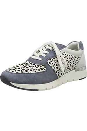 Caprice Damen KAIA Sneaker, (White/Jeans 135)