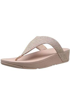 FitFlop Damen Lottie Toe Post - Holiday Glitz Sandalen, Pink (Rose 323)