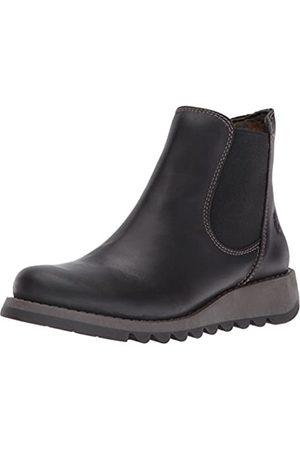 Fly London Damen Salv Chelsea Boots, (Black 000)