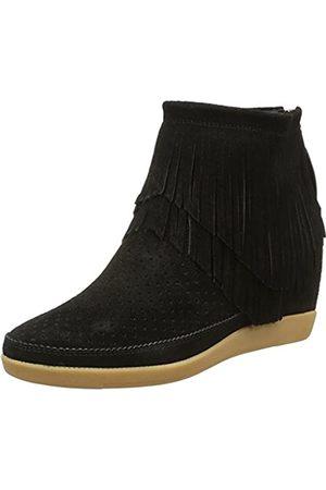 Shoe The Bear Damen Emmy Fringes Hohe Sneakers, (Black)