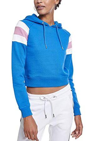 Urban classics Damen Ladies Sleeve Stripe Hoodie Kapuzenpullover
