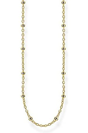 Thomas Sabo Unisex-Erbskette 925 Sterlingsilber gelbgold vergoldet KE1890-413-39-L50v