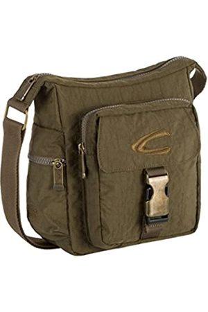 Camel Active Journey, Umhängetasche Unisex S, Schultertasche, Handtasche, Viele Steckfächer, Sicherheitsreißverschlussfach, 20x8,5x23