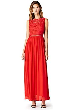 TRUTH & FABLE Amazon-Marke: Damen Maxi-Spitzenkleid, 44