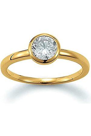 Viventy Damen-Ringe Silber_vergoldet zirkonia - Ringgröße 56 (17.8) 777991/56