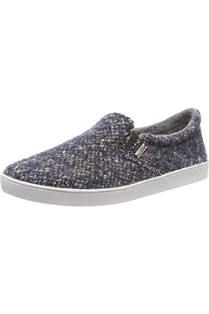 Living Kitzbühel Damen Slip-On Tweed Niedrige Hausschuhe, (Denim 550)