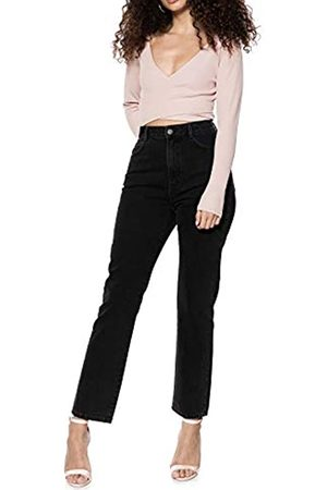 Ivy Revel DE Damen Denim HIGH Waist Straight Jeans