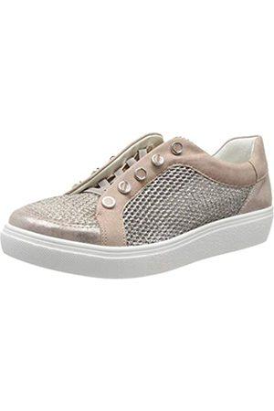 ARA Damen New York 1214525 Sneaker, (Puder, Multi 76)
