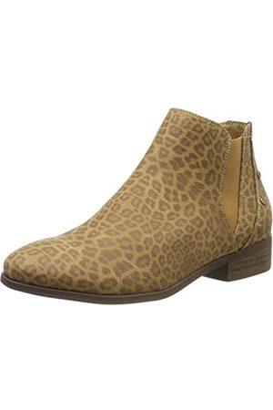 Roxy Damen Yates-Ankle Boots for Women Stiefeletten, (Cheetah Print Che)