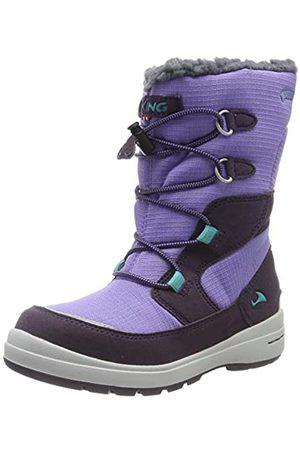 Viking Unisex-Kinder Totak GTX Schneestiefel, (Aubergine/Purple 8316)