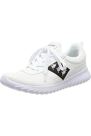 Kappa Unisex-Erwachsene Modus II Sneaker, (White/Black 1011)