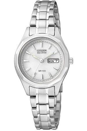 Citizen Damen Analog Quarz Uhr mit Edelstahl Armband EW3140-51AE