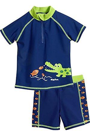 Playshoes Jungen UV-Schutz Bade-Set Krokodil Badehose