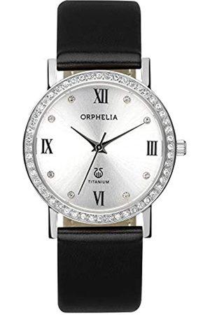 ORPHELIA Damen-Armbanduhr Provence Analog Quarz Leder