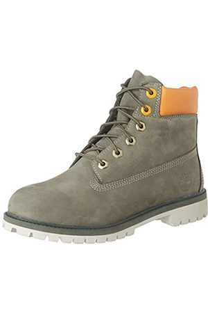 Timberland Unisex-Kinder 6 In Premium Waterproof Chelsea Boots, (Verde (Grape Leaf) Tb0a2caga581)