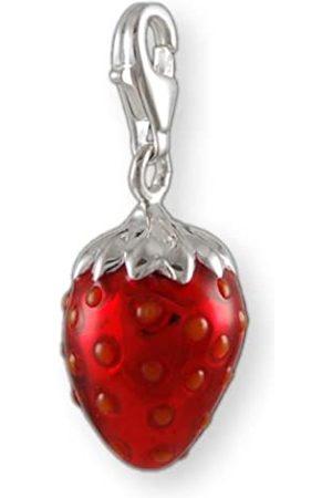 Melina Damen-Charm Anhänger Erdbeere 925 Sterling Silber 1801379