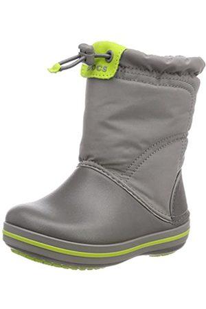 Crocs Unisex-Kinder Crocband LodgePoint Boot Schneestiefel, (Smoke/Graphite)