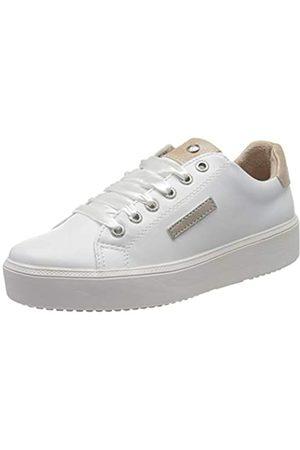 Dockers Damen 44NA201-610593 Sneaker, (Weiss/Rose 593)