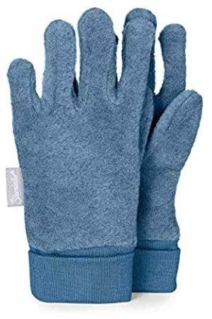Sterntaler Fleece-Fingerhandschuhe mit elastischem Umschlag, Alter: 5-6 Jahre, Größe: 4