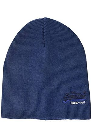 Superdry Herren ORANGE Label Beanie Strickmütze