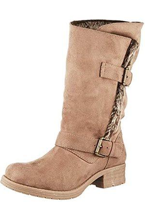 JOEBF #Joe Browns Damen Glacier Bay Strap Boots Kurzschaft Stiefel, (Natural A)