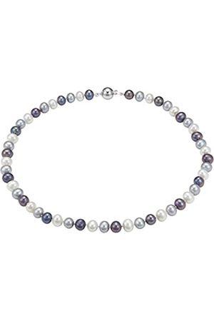 Pearl Dreams Damen-Collier 925 Silber rhodiniert 45 cm