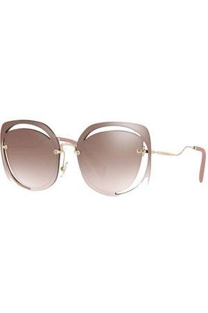 Miu Miu Sonnenbrille Mu 54ss braun