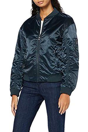 FIND Jacke Damen Bomber Style mit Satin-Look