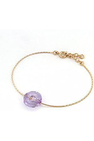 TOUS Armband vergoldet Kristall 19 cm