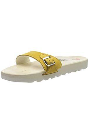 Berkemann Unisex-Erwachsene City O-Sandale Pantoletten, (Ocker 505)