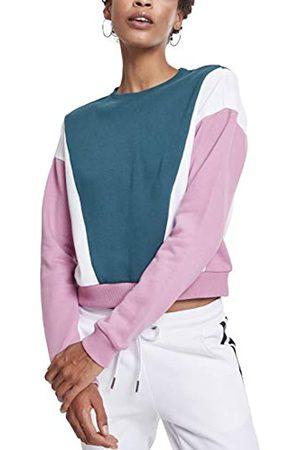 Urban classics Damen Ladies 3-Tone Arrow Crew Sweatshirt