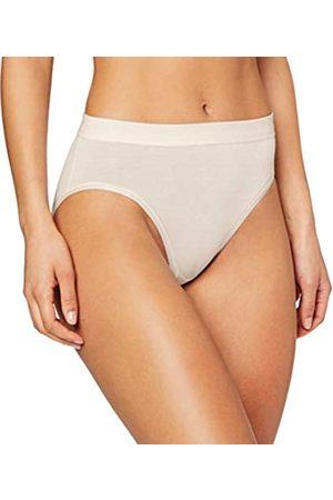 HUBER Damen Unterhose Soft Comfort Midi Slip,, Elfenbein (Champagne 010624)