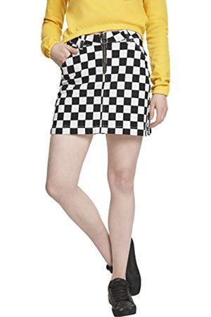 Urban classics Damen Ladies Check Twill Skirt Rock