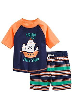 Simple Joys by Carter's Baby und Kleinkind Jungen 2-teilig Badeanzug Trunk und Rashguard