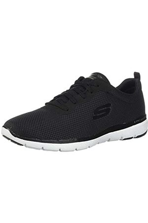 Skechers Damen Flex Appeal 3.0-13070 Sneaker, (Black White Bkw)