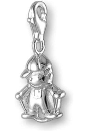 Melina Damen-Charm Anhänger Kind mit Hüpfseil 925 Sterling Silber 1800535