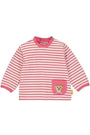 Steiff Baby-Mädchen mit Streifen und Teddybärmotiv Langarmshirt