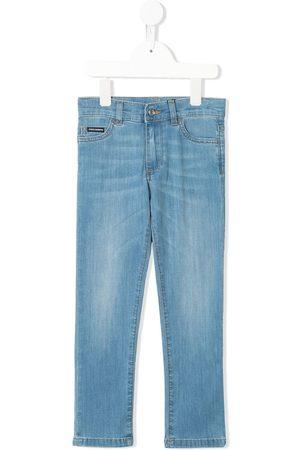 Dolce & Gabbana Kids Jungen Cropped - Five-Pocket-Hose