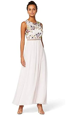 TRUTH & FABLE Amazon-Marke: Damen Maxi-Spitzenkleid, 38