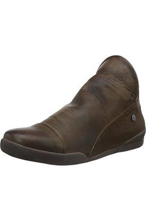 Andrea Conti Damen 0340518 Kurzschaft Stiefel (dunkelbraun/cognac 118) 37 EU